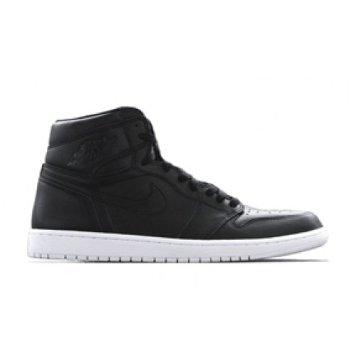 Authentic 555088-006 Air Jordan 1 Retro High OG Black Dark Grey-White (Men Women)
