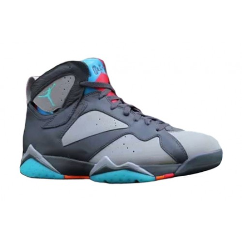 Authentic 304775-016 Air Jordan 7 Retro Dove Grey/Turquoise Blue-Wolf Grey-Total Orange