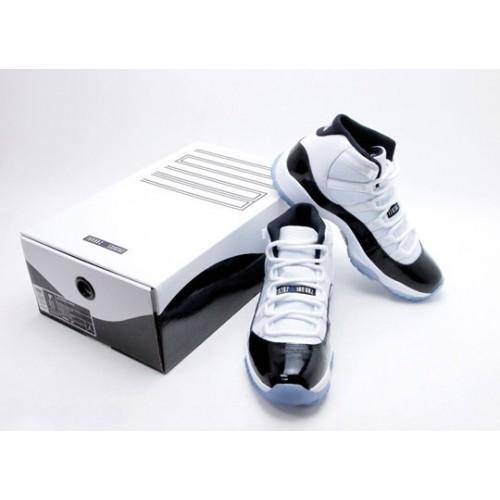 a42a723396e3 378037-107 Air Jordan Retro 11 (XI) Concord 2011 White Black Dark Concord  ...
