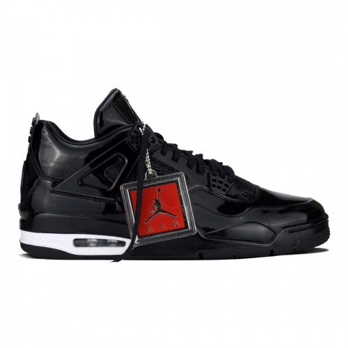Authentic 719864-010 Air Jordan 11Lab4 Black/Black-White
