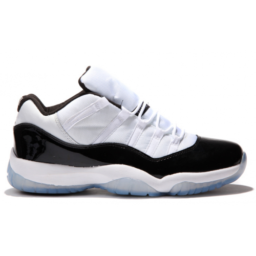 528895-153 Air Jordan 11 Retro Low White/Black-Dark Concord Men's Shoe