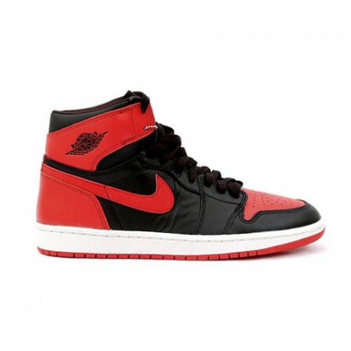 Air Jordan 1 Retro High OG Black/Varsity Red-White (Women Men Gs Girls)