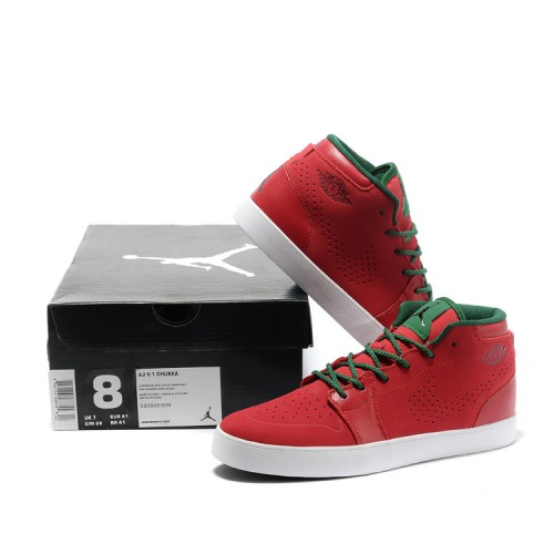 d2ac38d948f1 ... Air Jordan 1 Red Green Mens Vivism Casual Shoes ...