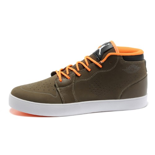 Air Jordan 1 Sand Soil Orange Mens Vivism Casual Shoes