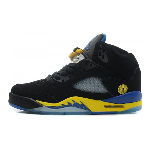 136027-089 Air Jordan 5 Black Laney (Women Men Gs Girls)