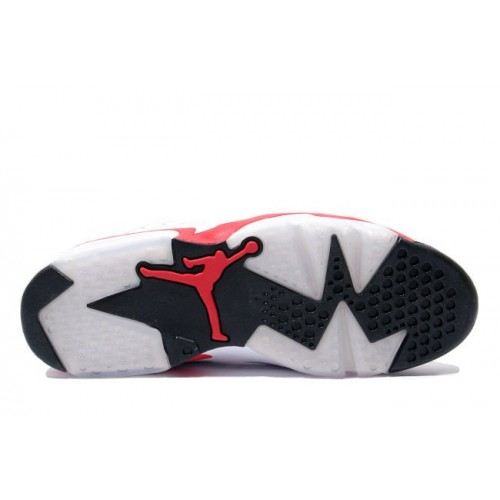 low priced 91bac e38cc ... Authentic 384664-123 Air Jordan 6 (VI) Original White infrared Black  Men s Shoe ...