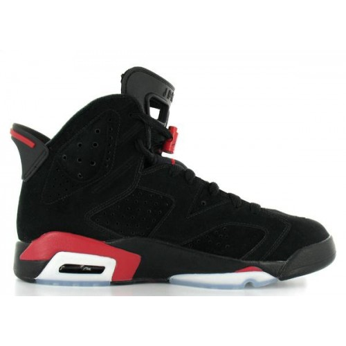 136038-061 Air Jordan 6 (VI) Retro BlackDeep Infrared A06001