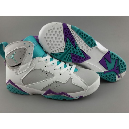 new product 2f078 38bb2 Air Jordan 7 (VII) Retro Easter Egg Womens Basketball Shoes
