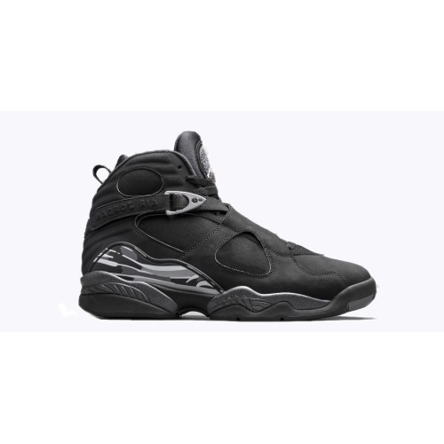Authentic 305381-003 Air Jordan 8 Retro Black/White-Light Graphite Style