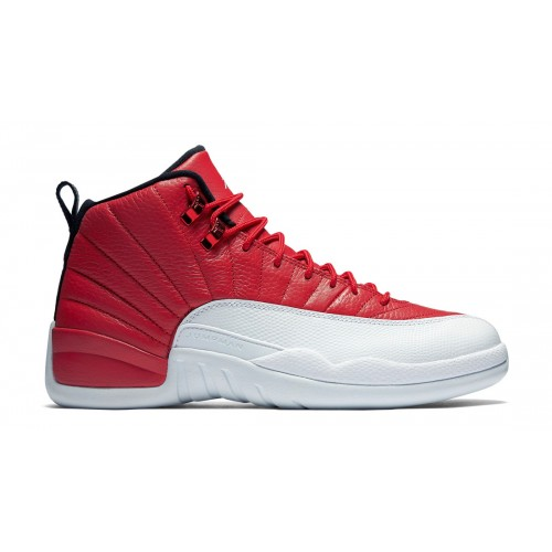 "Authentic Air Jordan 12 Retro ""Alternate"" Gym Red/Black-White 130690-600 (Men Women)"