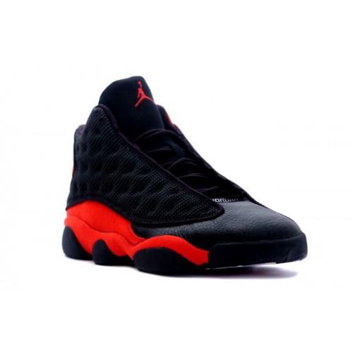 buy online 9c9c7 dd7f6 ... 414571-010 Air Jordan 13 (XIII) Bred Black Red A13008(Women Men ...