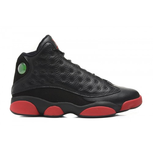 Authentic 414571-003 Air Jordan 13 Retro Black/Infrared 23-Black( Men Women GS Youth Girls)