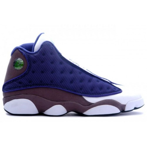 Air Jordan Retro 13 Flint French Blue University Blue Flint Grey November 2010 A13012