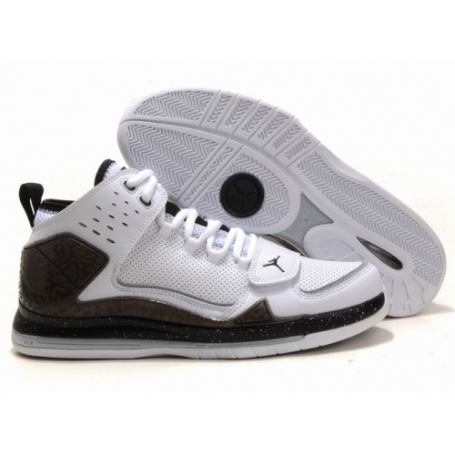 Air Jordan Evolution 85 White Brown Black A18011