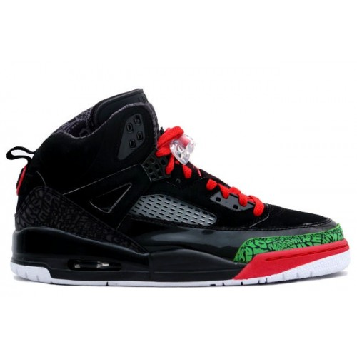 315371-061 Air Jordan Spizike Black Varsity Red Classic Green A23003