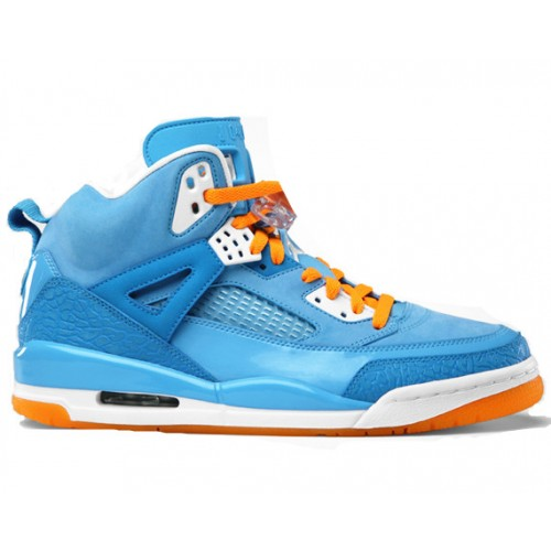 315371-415 Air Jordan Spizike University Blue White Italy Blue Vivid Orange A23017
