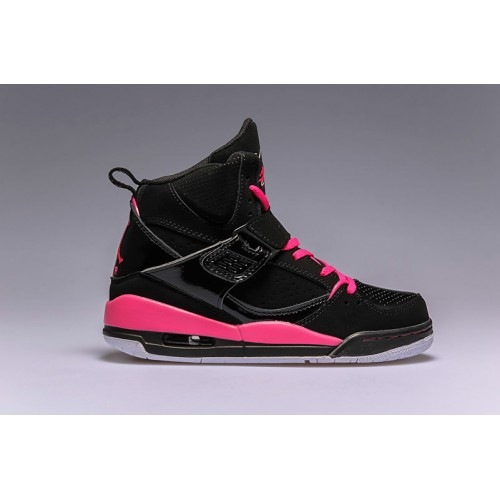 524864-017 Air Jordan Flight 45 High (GS) Black Pink