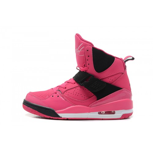 547769-601 Girls Jordan Flight 45 Hi Prem GS Vivid Pink