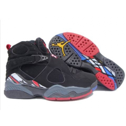 305368-061 Air Jordan 8 Retro Womens Play Off Black Red White A24002