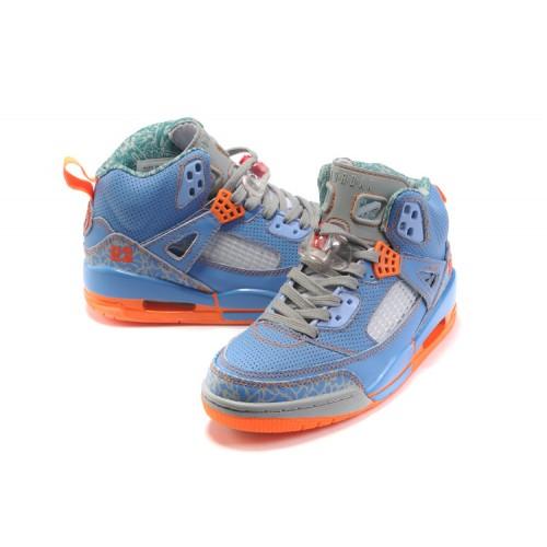 separation shoes 37249 cbf1c Jordan Spizike Women Basketball Shoes blue grey orange A24043 ...