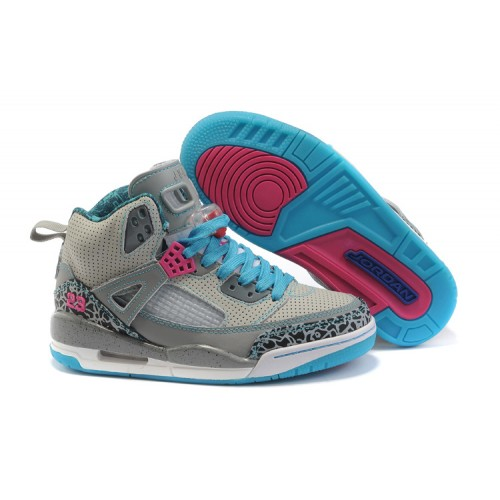 Jordan Spizike Women Basketball Shoes white grey moon A24044